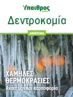Δεντροκομία σε χαμηλές θερμοκρασίες
