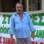 Δημήτρης Μπερτσέκας παραγωγός σταφίδας και ελιάς στη Στιμάγκα Κορινθίας