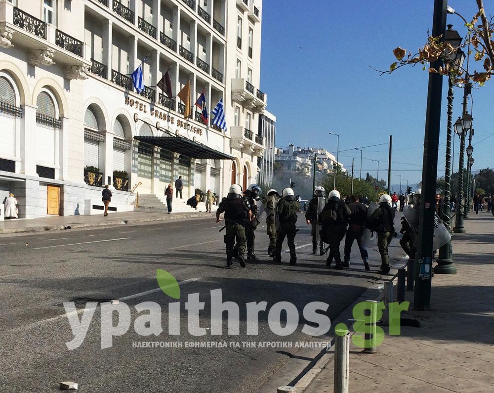 Βίντεο με τη στιγμή της σύλληψης του Ιεραπετρίτη αγρότη από τις δυνάμεις των ΜΑΤ!