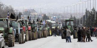 Ζεστάθηκαν τα τρακτέρ στη Θράκη