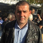 Γιάννης Βράνας, αντιπρόεδρος του Αγροτικού Συλλόγου Βέροιας και μέλος της Πρωτοβουλίας Αγροτών