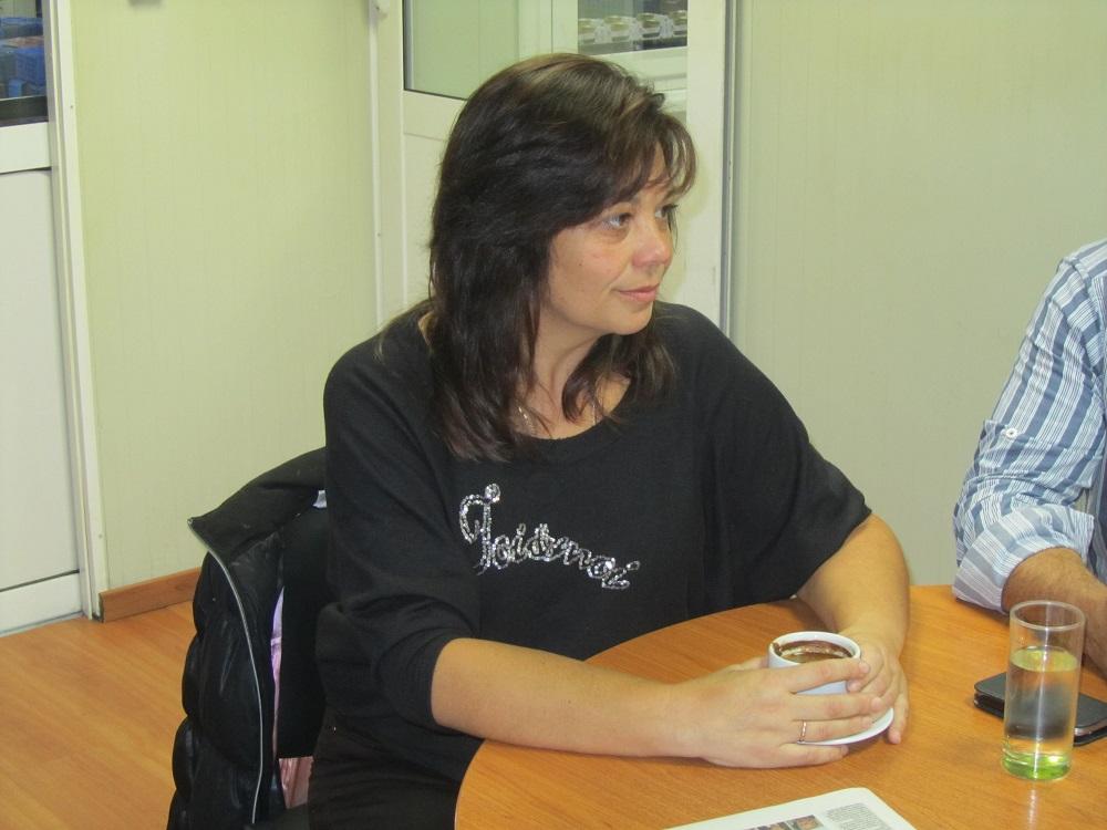 Δέσποινα Βαρούτα, αντιπρόεδρος του ΔΣ του συνεταιρισμού ΖΑΓΟΡΙΝ