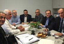 Συνάντηση κλιμακίου ΠΑΣΟΚ - ΔΗΜΑΡ με εκπροσώπους φορέων του αμπελοοινικού τομέα
