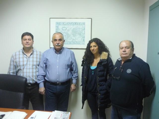 Συνάντηση των Γεωπόνων Τεχνολογικής Εκπαίδευσης Ευβοίας με τον βουλευτή του Συριζα Α. Πρατσόλη