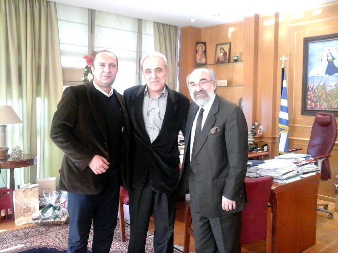 Επίσκεψη προέδρου του ΚΑΠΕ στο Δημαρχείο Αλεξανδρούπολης