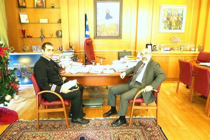 Συνάντηση Δημάρχου Αλεξανδρούπολης με το νέο Λιμενάρχη