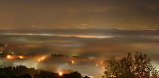 Ιωάννινα: Η αιθαλομίχλη «χτύπησε κόκκινο» τη νύχτα