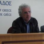 Θοδωρής Παπακωνσταντίνου, συντονιστικής των Συλλόγων της Πρωτοβουλίας Αγροτών