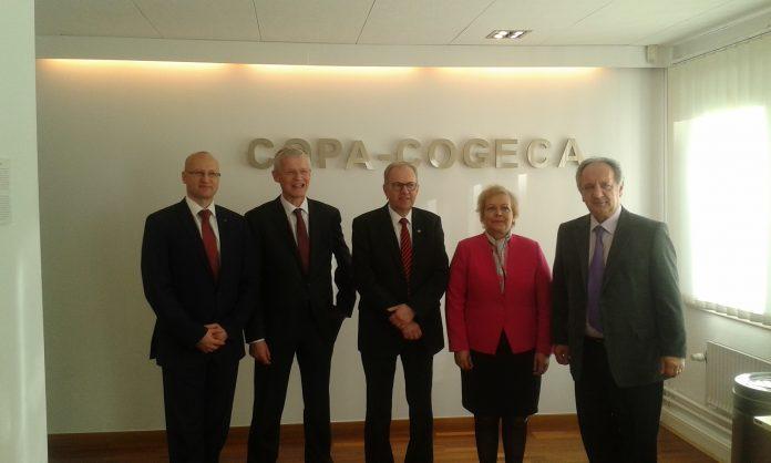 Αντιπρόεδρος της Γενικής Επιτροπής Αγροτικού Συνεργατισμού της COGECA ο Β. Παρόλας