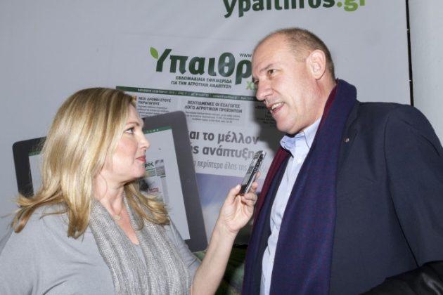 Μεγάλο το ενδιαφέρον για το περίπτερο της «ΥΧ» στην Agrotica