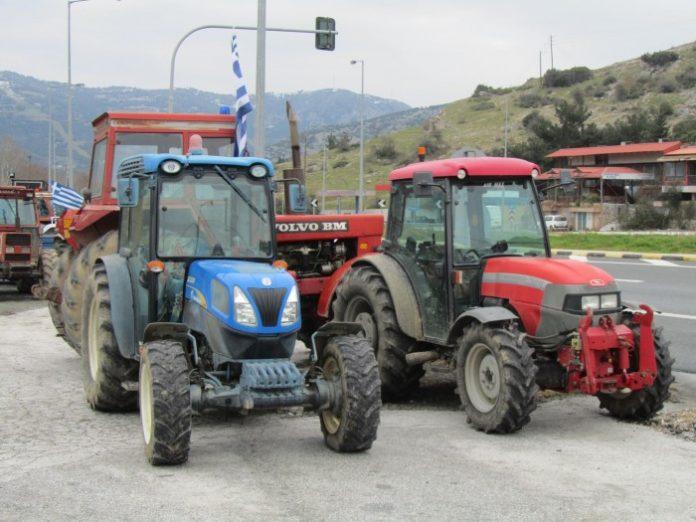 Αγροτικό συλλαλητήριο στη Βέροια