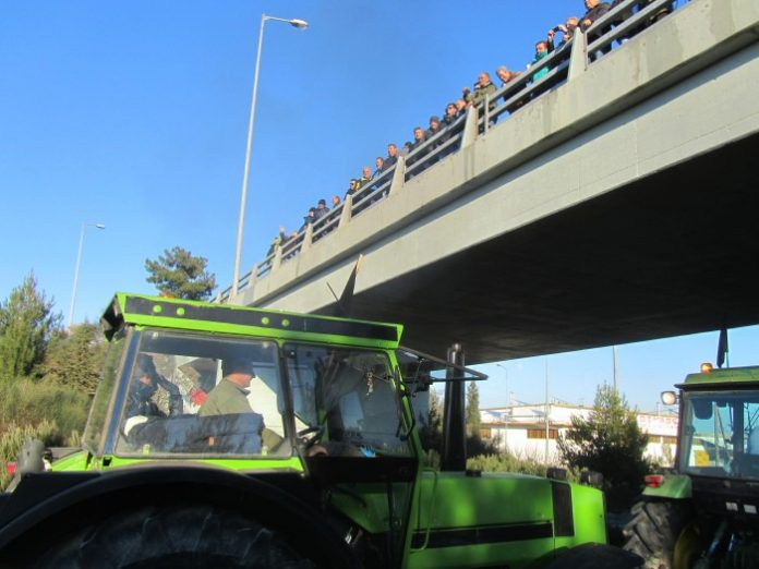 Συλλαλητήριο στην πόλη της Λάρισας ετοιμάζουν οι αγρότες την Παρασκευή 1/2