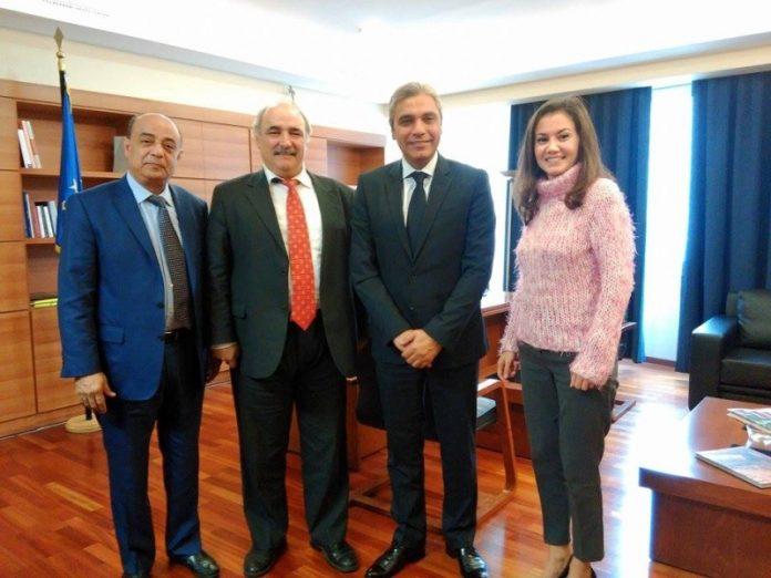 Συνάντηση Μπόλαρη με το Προεδρείο του Ελληνο - Αραβικού Επιμελητηρίου για την προώθηση εξαγωγών