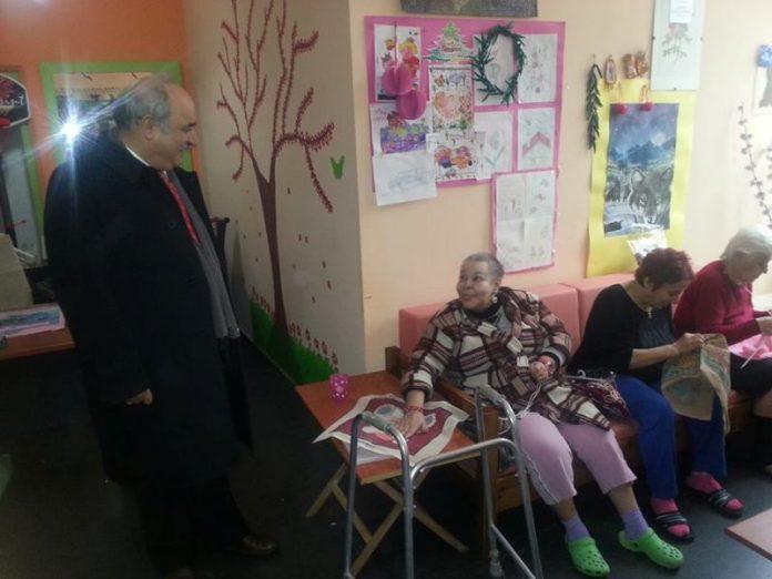 Επισκέψεις Μπόλαρη σε Προνοιακά Ιδρύματα της Θεσσαλονίκης