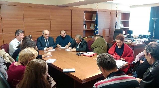 Σύσκεψη για την εκπόνηση εθνικού σχεδίου δράσης για τους oργανισμούς καραντίνας