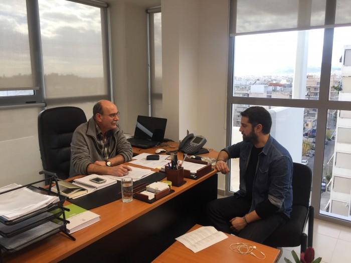 Γιώργος Καρέτσος:  Εντοπίζουμε τις αγκυλώσεις και δημιουργούμε ένα πιο λειτουργικό σχήμα στον ΕΛΓΟ