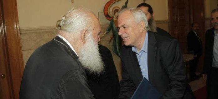 Η αξιοποίηση της αγροτικής γης που ανήκει στην Εκκλησία, τέθηκε στη συνάντηση του αρχιεπισκόπου με τον υπουργό Αγροτικής Ανάπτυξης