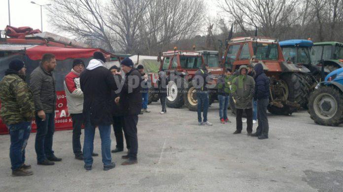 Στον Προμαχώνα χτυπάει η καρδιά των αγροτικών κινητοποιήσεων στη Β. Ελλάδα. Συμβολικό αποκλεισμός του τελωνίου
