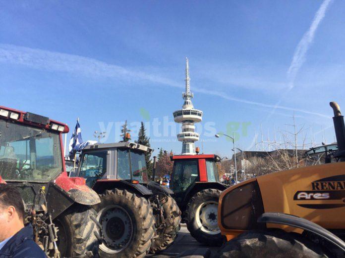 Θεσσαλονίκη: Δεν φεύγουν οι αγρότες και εντείνουν τις κινητοποιήσεις. Καθόρισαν το πλαίσιο διεκδικήσεων