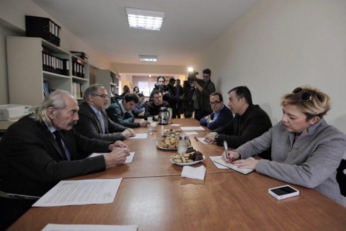 Συνάντηση Σ. Θεοδωράκη με οινοπαραγωγούς Β. Ελλάδος