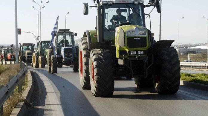 κινητοποιήσεις αγρότες Θεσσαλία