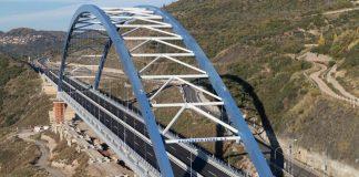 Σε περίπου 10 ημέρες παραδίδεται η γέφυρα της Τσακώνας
