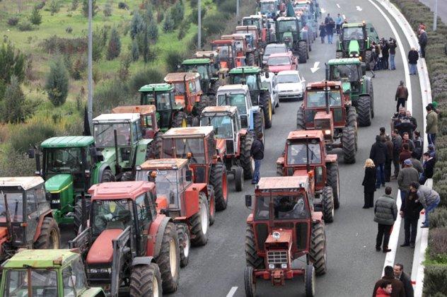 Αποκλεισμός του κόμβου στις λεωφόρους Μαρκοπούλου και Κορωπίου - Παιανίας