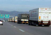 Έλεγχοι σε όλη τη χώρα στα φορτηγά με τα οποία διακινούνται αγροτικά προϊόντα