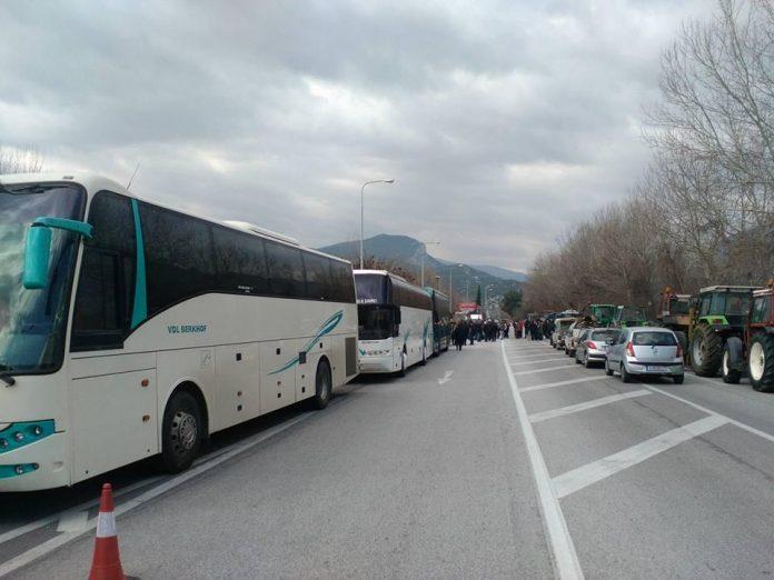 Ετοιμάζονται για την Αθήνα και οι αγρότες της Βοιωτίας