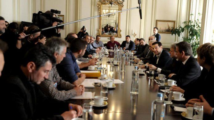 Νέα συνάντηση Τσίπρα με αγρότες αύριο - Άνοιξε ο Προμαχώνας