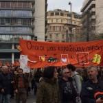 Μεγαλειώδες συλλαλητήριο στην Αθήνα κατά του ασφαλιστικού