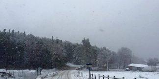 Νέα επέλαση του χιονιά στα ορεινά του νομού Τρικάλων