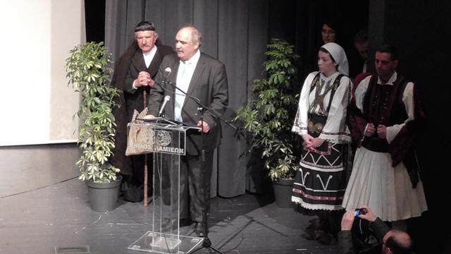 Χαιρετισμός Μ. Μπόλαρη στο Συνέδριο των Σαρακατσάνων