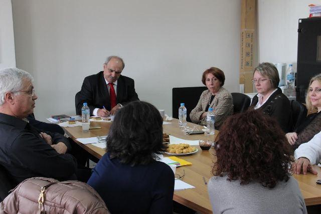 Σύσκεψη συνεργασίας Μ. Μπόλαρη στη Διεύθυνση Αποκεντρωμένων Υπηρεσιών Μ-Θ του ΥΠΑΑΤ