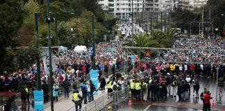 Διακοπές κυκλοφορίας την Κυριακή σε όλο το κέντρο της Αθήνας