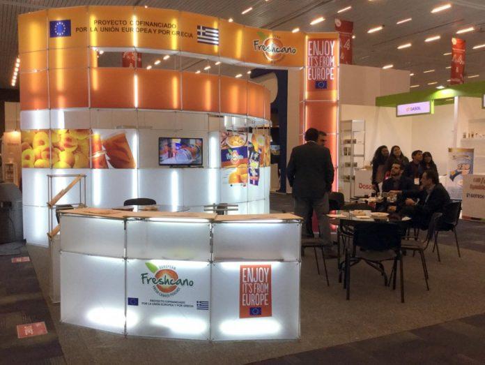 Η ευρωπαϊκή κομπόστα ροδάκινο στη διεθνή έκθεση Alimentaria 2016