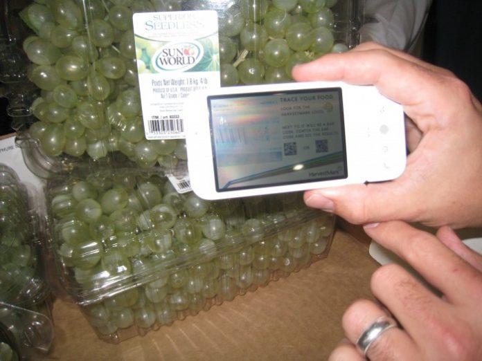 Ιχνηλασιμότητα τροφίμων μέσω κινητού τηλεφώνου