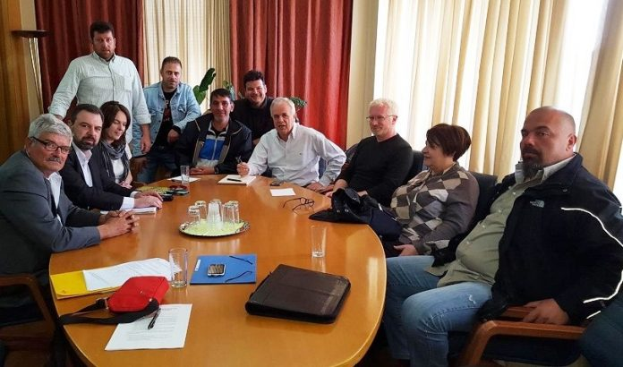 Συνάντηση Αποστόλου με Κρητικούς αγρότες και παράκτιους αλιείς