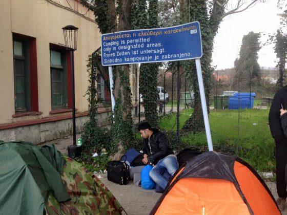 Το δράμα των προσφύγων στα «χωράφια» της Ειδομένης