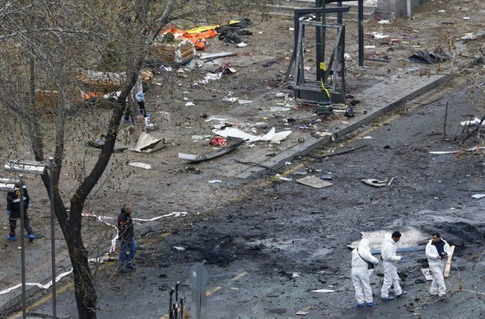 Στους 37 οι νεκροί από την επίθεση στην καρδιά της Άγκυρας