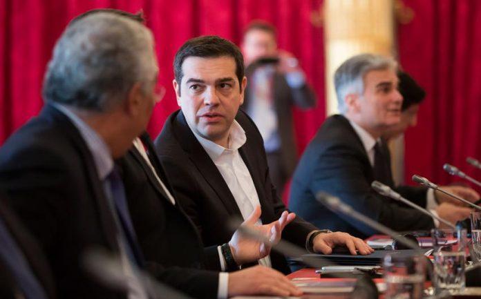 «Η εξέλιξη των πραγμάτων στην Ελλάδα αφορά τόσο το μέλλον της ίδιας της Ευρώπης όσο και το μέλλον των προοδευτικών δυνάμεων», ανέφερε ο πρωθυπουργός Αλέξης Τσίπρας