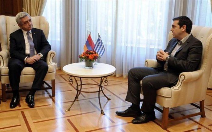 Τσίπρας-Σαρκισιάν: Η προσφυγική κρίση αφορά όλη τη διεθνή κοινότητα