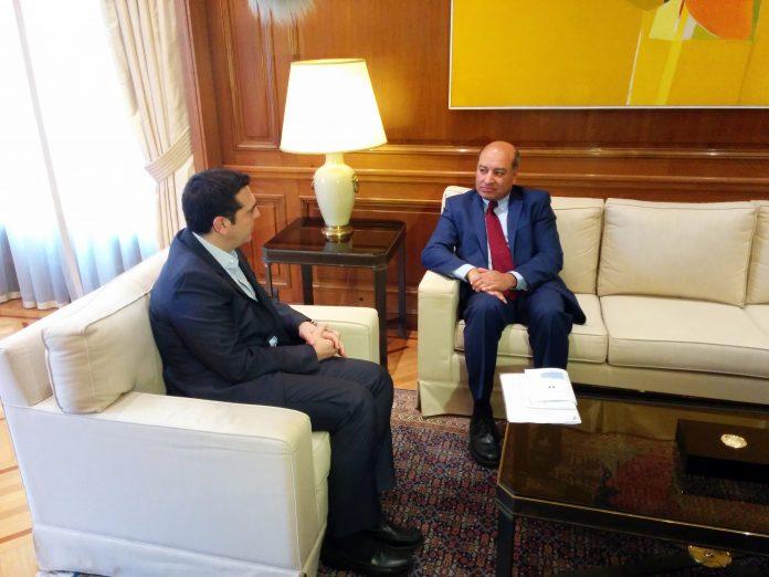 Συνάντηση Τσίπρα με τον πρόεδρο της EBRD