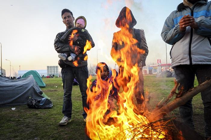 Ο φωτορεπόρτερ GMB Akash αποτυπώνει το δράμα των προσφύγων