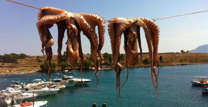 «ελληνοποιήσεις» και στον τομέα ψαριών και θαλασσινών