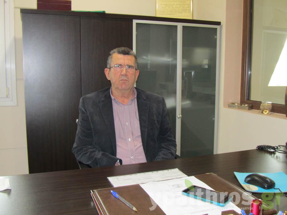 Ο πρόεδρος της ΕΑΣΘ, Χρήστος Τσιχήτας