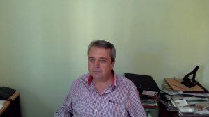 Πρόεδρος της ΕΑΣ Κορινθίας, Χρήστος Μπαρλιάς