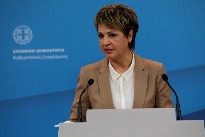 Ολγα Γεροβασίλη: Πιθανό δημοψήφισμα για τη συνταγματική αναθεώρηση