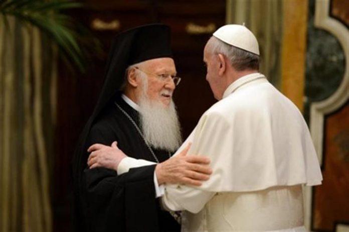 Στη Λέσβο την άλλη εβδομάδα, ο Οικουμενικός Πατριάρχης και ο Πάπας