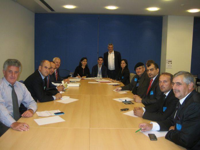 Ο Ι. Αχμέτ στις Βρυξέλλες με αντιπροσωπεία καπνοπαραγωγών